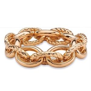 Bloomingdale's Gold Tone Link Bracelet